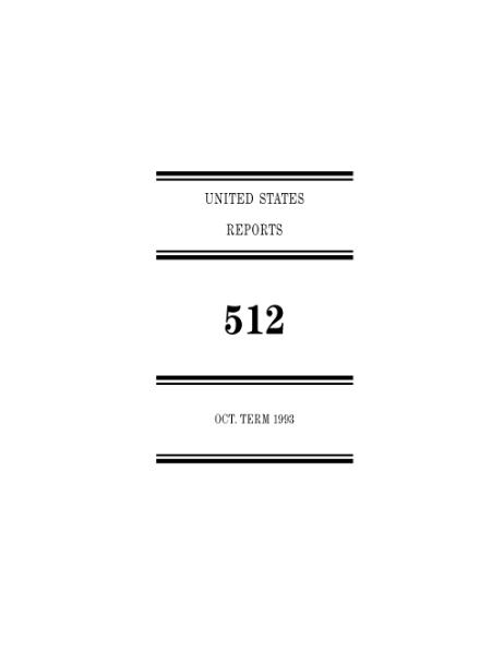 File:United States Reports, Volume 512.djvu