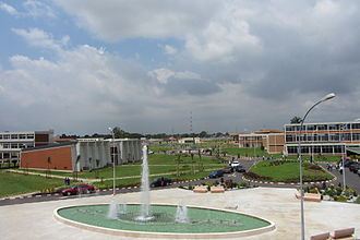 Université Félix Houphouët-Boigny - The University campus