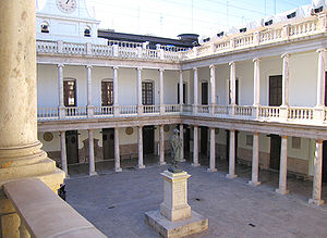 University of Valencia - Historic claustre of la Nau building