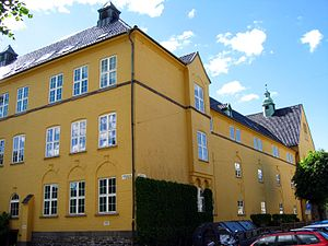 University of Bergen - Sydneshaugen skole, campus of the Faculty of Humanities