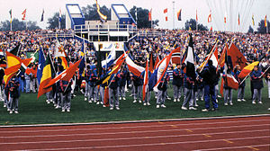 Universiade - In 1989.