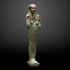 Ushebti figurine of Tjahorpato-MAHG Eg 17