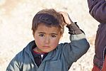 Uzbek looking boy in northern Afghanistan