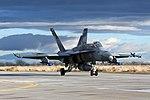VFA-204 FA-18A+ Hornet taxiing at NAS Fallon 161216-N-IM823-129.jpg