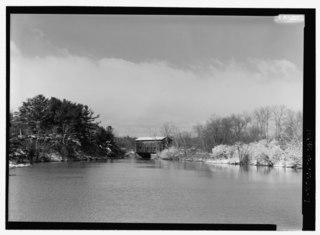 East Shoreham Covered Railroad Bridge