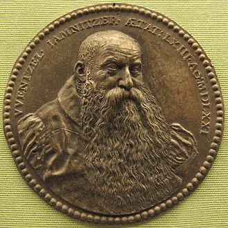 Wenzel Jamnitzer - Valentin Maler, Wenzel Jamnitzer medal, 1571