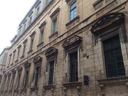 The Old University Building in Valletta