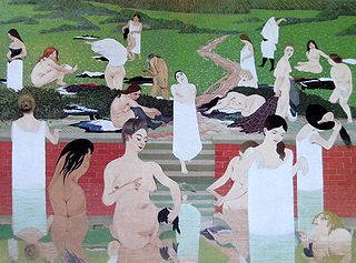 Vallotton Das Bad Sommerabend 1892.jpg