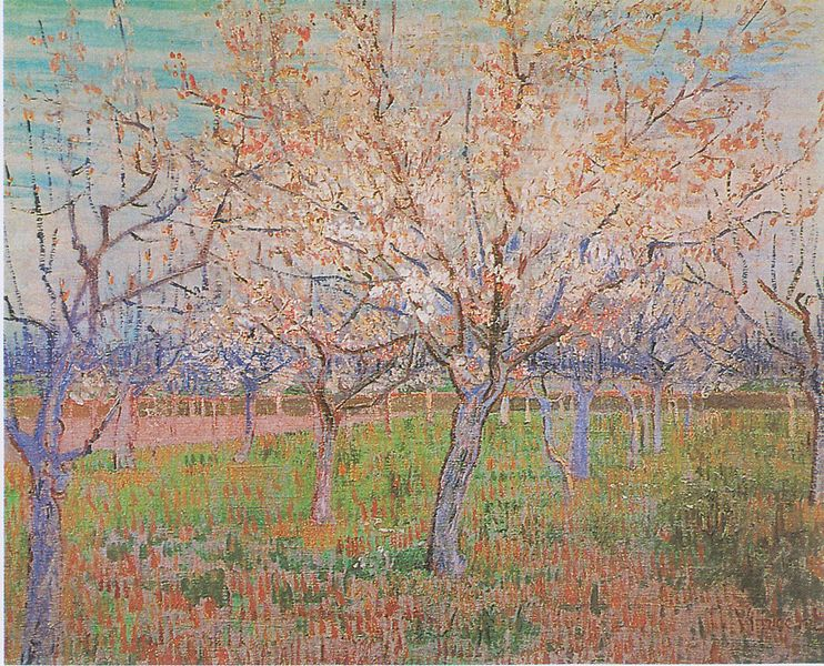 File:Van Gogh - Obstgarten mit blühenden Aprikosenbäumen.jpeg