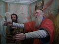 Varallo, Sacra monte, Cappella 8-Presentation of Christ in the Temple 02.JPG