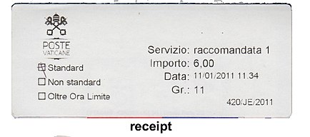 Vatican stamp type PO3 receipt.jpg
