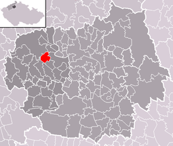 Location of Vchynice