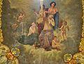 Venus, Cupido i les Tres Gràcies, sostre del tocador de luxe del palau del marqués de Dosaigües.JPG