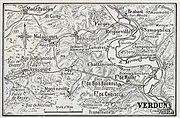Verdun, west bank, 1916