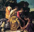 Vermeer - Diana en haar gezelschap (19th version with a blue sky).jpg
