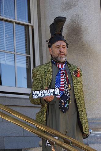 2012 Democratic Party presidential primaries - Image: Vermin Supreme