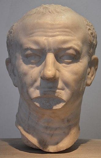 Vespasian - Image: Vespasian, from Ostia, 69 79 CE, Palazzo Massimo alle Terme, Rome (13643233603)