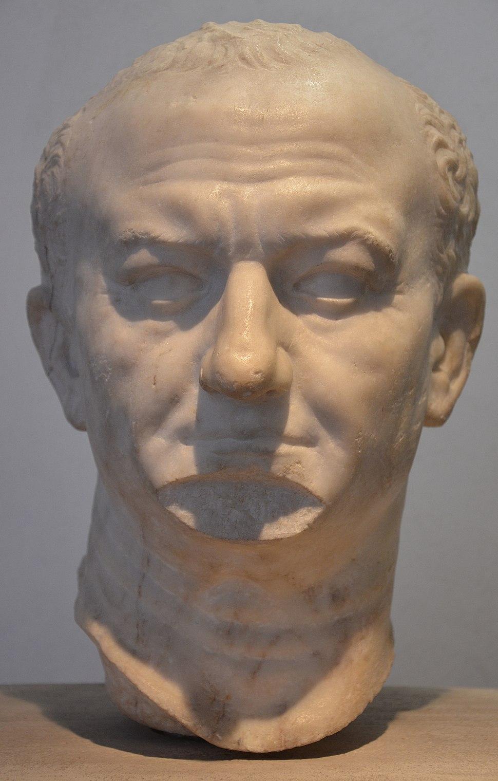 Vespasian, from Ostia, 69-79 CE, Palazzo Massimo alle Terme, Rome (13643233603)