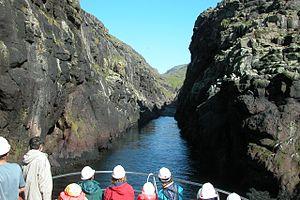 Vestmanna - Image: Vestmannabjørgini, Faroe Islands (7)