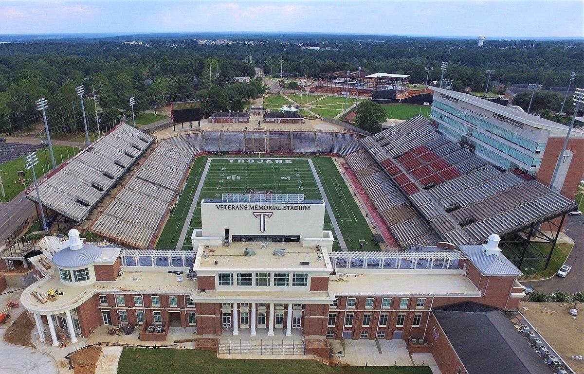 Veterans Memorial Stadium (Troy University) - Wikipedia