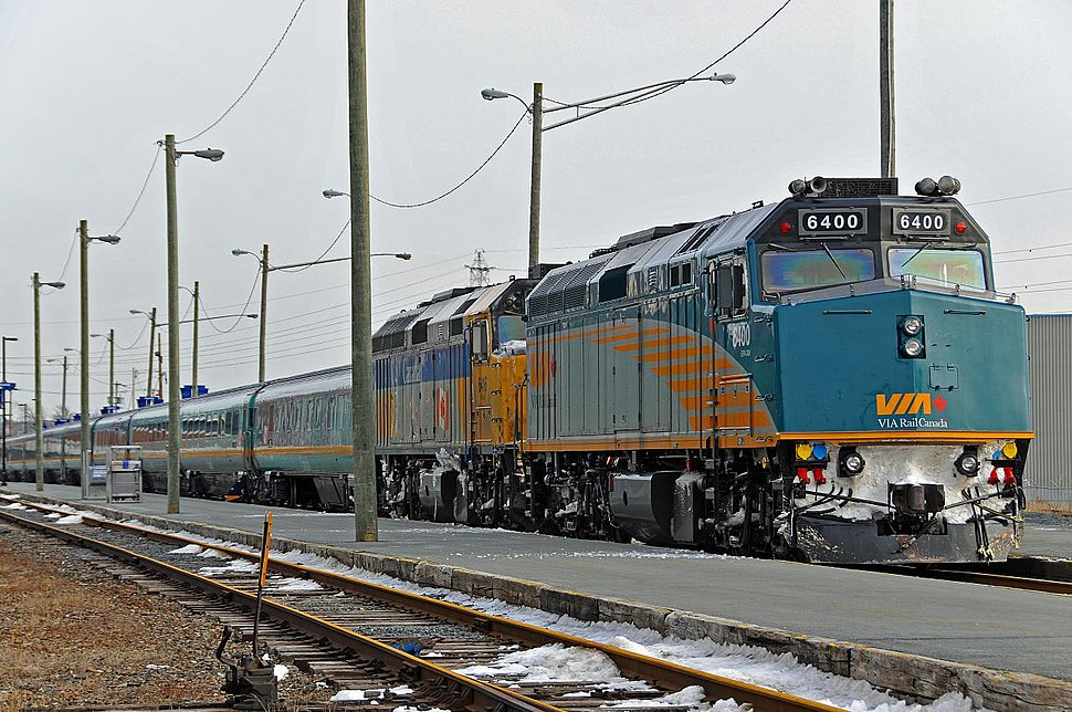 Via Rail Ocean at Halifax