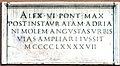 Via del Pellegrino Inschrift Alexander VI.jpg
