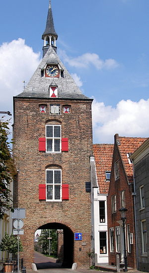 Vianen - City gate (15th century)