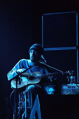 Vic Chesnutt - Chesnutt onstage in 2008