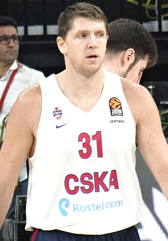 Victor Khryapa - Khryapa with CSKA Moscow in October 2017.