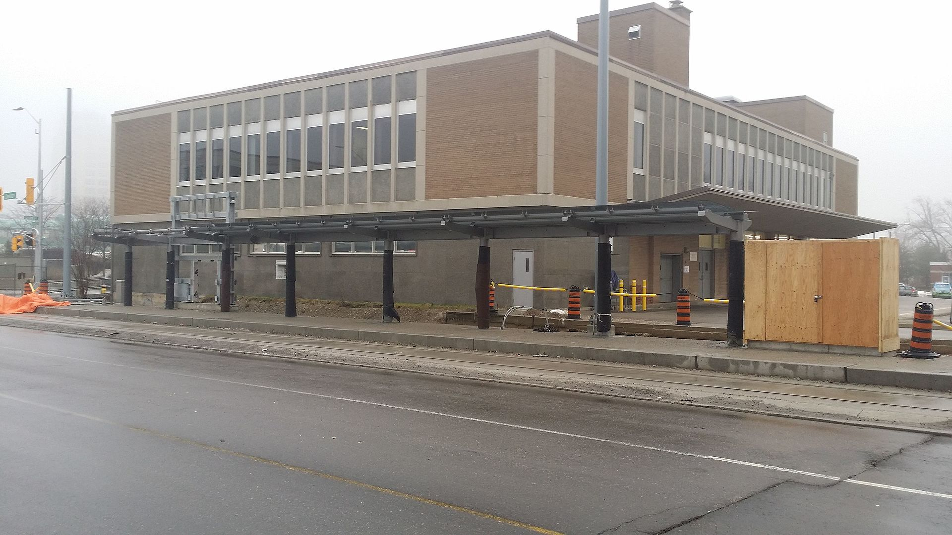 Kitchener Bus Terminal  Charles Street West Kitchener On