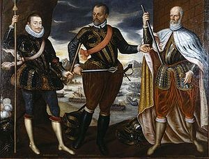 Marcantonio Colonna - The Victors of Lepanto (from left: John of Austria, Marcantonio Colonna, Sebastiano Venier).