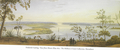 View from Mount Eliza by Garling in 1827.png