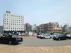 View in front of south entrance of Shin-Yamaguchi Station 2