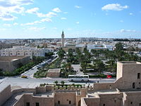 View of Monastir from the ribat tower.jpg
