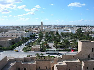 Monastir, Tunisia - Image: View of Monastir from the ribat tower