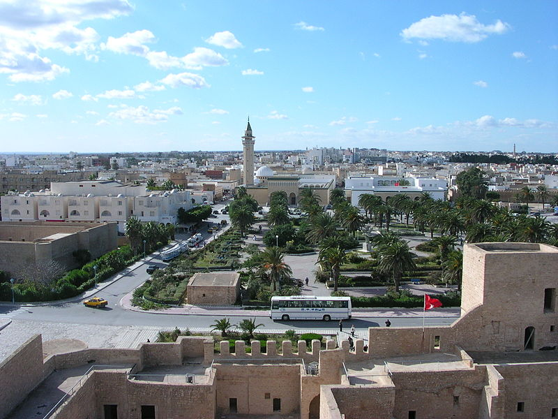 File:View of Monastir from the ribat tower.jpg