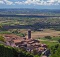 View of the Duomo di Cortona from Porta Montanina. Tuscany, Italy.jpg