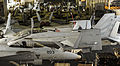 View of the hangar bay of USS Nimitz (CVN-68) 2013.JPG