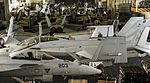 View of the hangar bay of USS Nimitz (CVN-68) 2013.JPG