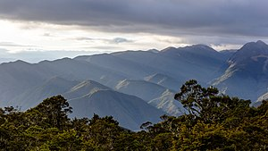 View towards Lookout Range from John Reid Hut, Kahurangi, New Zealand.jpg