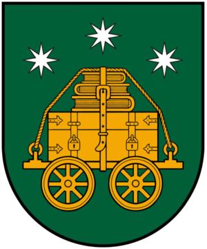 Vilkyškiai - Image: Vilkyskiuherbas