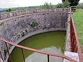 Villa di geggiano, giardino, pescaia semicircolare 02.JPG