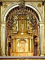 Villacastín - Iglesia de San Sebastián, retablo mayor 02.jpg