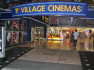 Village Cinemas - A former four-screen Village Cinema on Bourke Street in the Melbourne CBD. It operated from 1986 to 2006, with Village Roadshow's headquarters located in the upper levels (the HQ has since been relocated to The Jam Factory near their other cinemas). Some of its opening movies were Short Circuit and The Color Purple. This building has since being redeveloped and renamed as, '206 Bourke Street.'