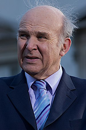 Vince Cable, British politician and former act...