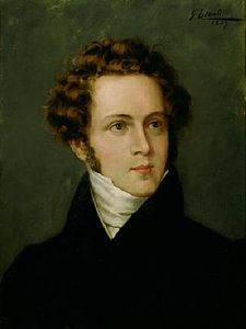 O compositor italián Vincenzo Bellini