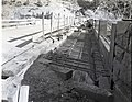 Virgin River Bridge renovation showing reinforcing bar in place. ; ZION Museum and Archives Image 002 01016 ; ZION 7569 (d0169c603ee94b3396ef481931198d73).jpg