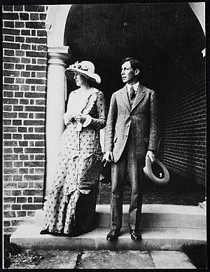 Leonard Woolf - Virginia and Leonard Woolf, 1912