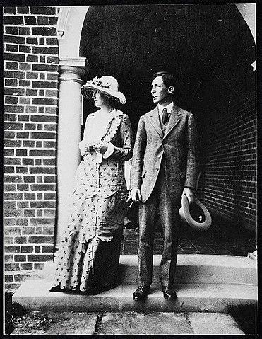 Вирджиния и Леонард Вулф в 1912 году