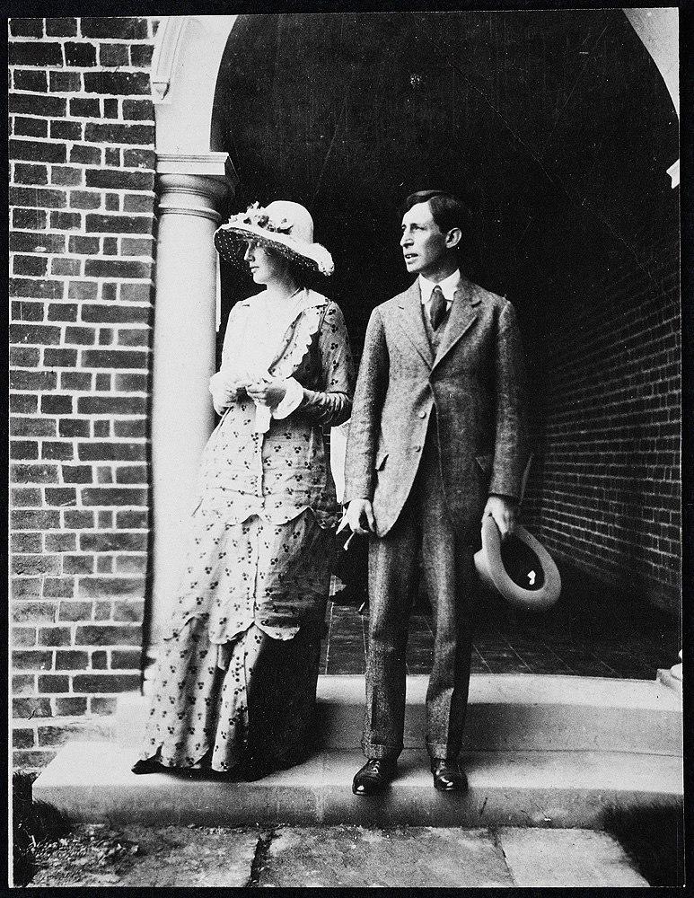 Virginia and Leonard Woolf, 1912